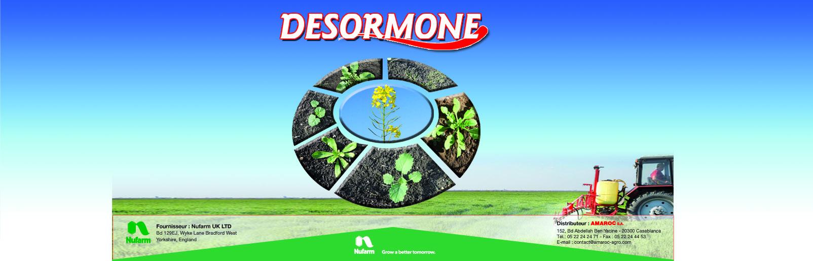 Insertion Desormone